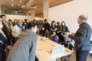 Group Meeting - Table, Photo By Hideto Maezawa