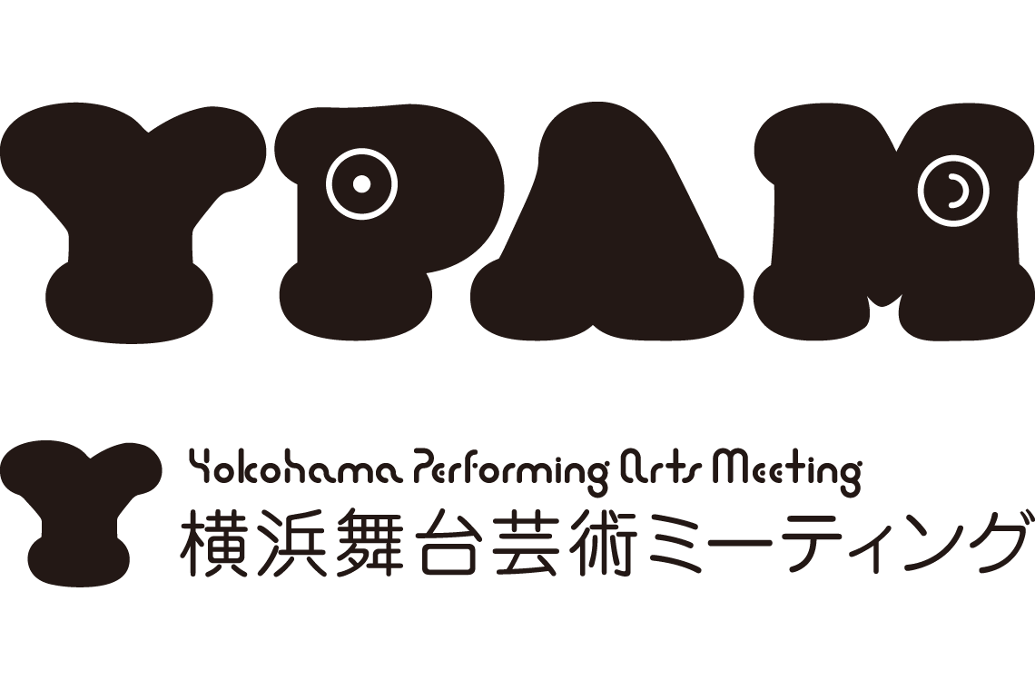 YPAM logo, type direction and design by Kazuo Kuribayashi (kuri + graphic)